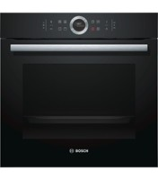 Serie | 8 Oven HBG634BB1B The built-in oven: you get perfect baking and roasting results. 4D Hot Air: even heat distribution for perfect results – on any level. TFT display control: easy-to-use thanks to the control ring with full text and symbols.